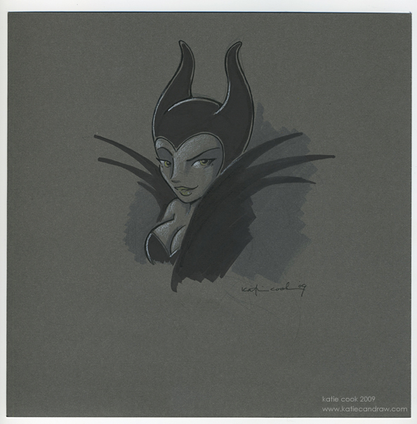 Grey-maleficent