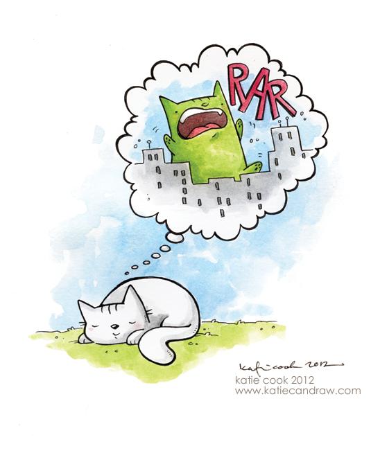 Rüyada kedi - Kedi Rüyası