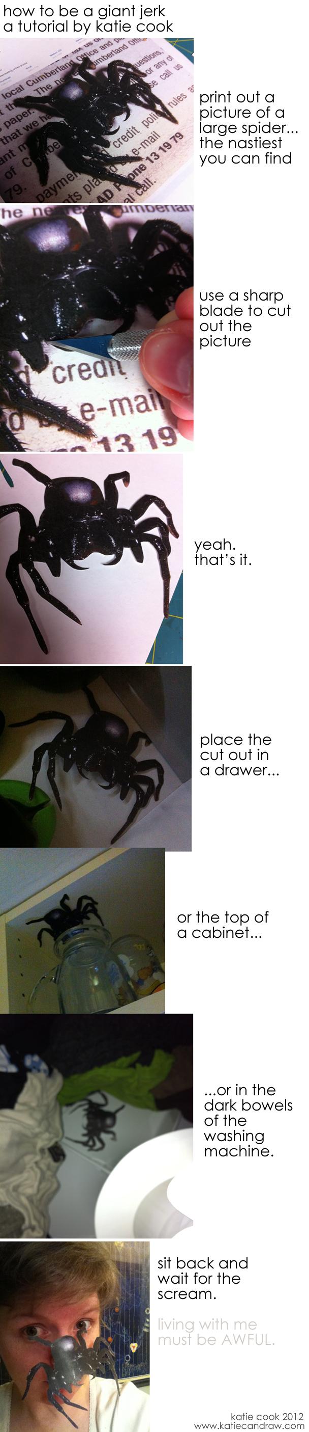Spider-troll