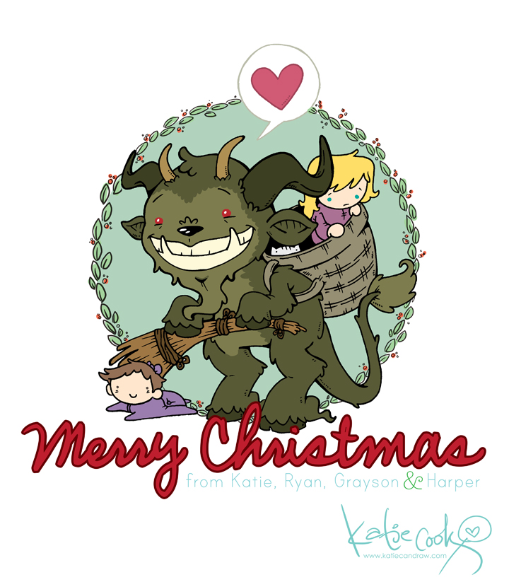 Kcook_krampus-card2013